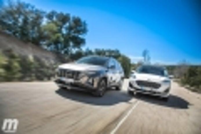 Comparativa Hyundai Tucson vs Ford Kuga, ¿los mejores SUV híbridos? (Con vídeo)