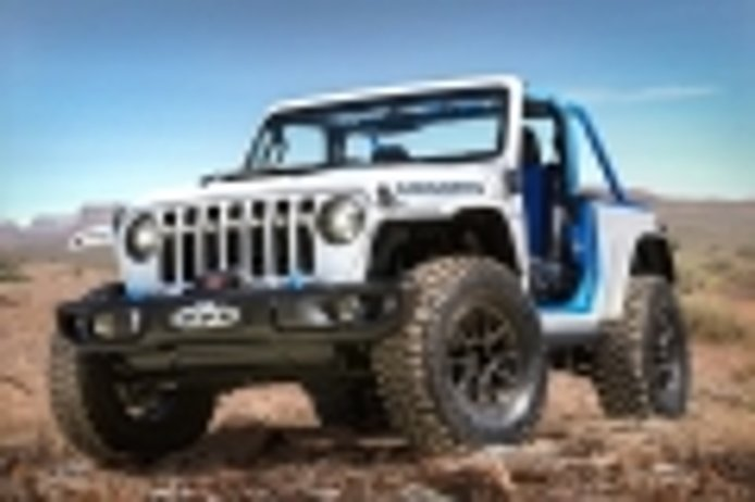 Jeep Wrangler Magneto concept: the 100% electric Wrangler is now official