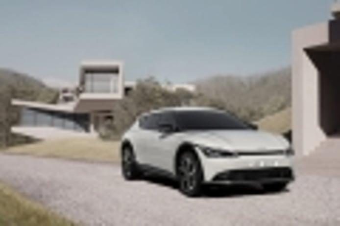KIA desvela el futurista y afilado EV6 eléctrico, primo hermano del IONIQ 5