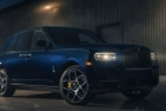 El Rolls-Royce Cullinan Black Badge saca su lado más deportivo