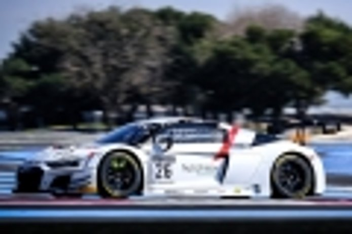 Saintéloc Racing manda en la primera jornada de test del GTWC Europe