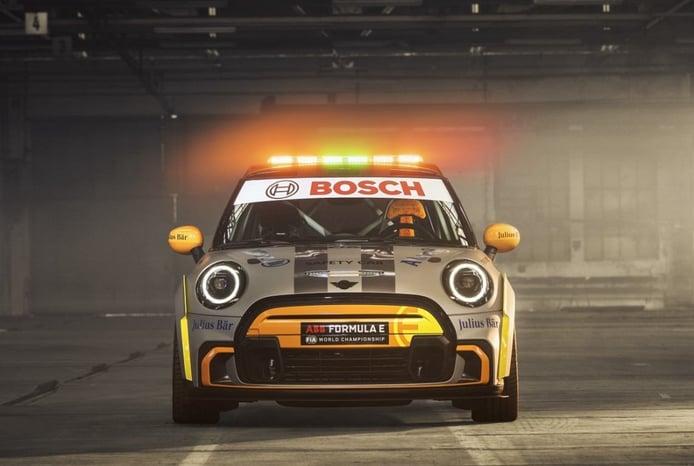 El MINI Electric Pacesetter, nuevo Safety Car de la Fórmula E y futuro JCW eléctrico