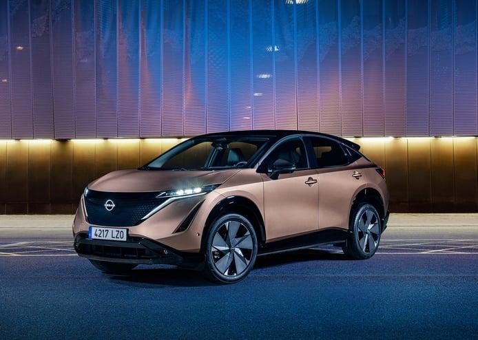 Al detalle los diez colores disponibles en el nuevo Nissan Ariya