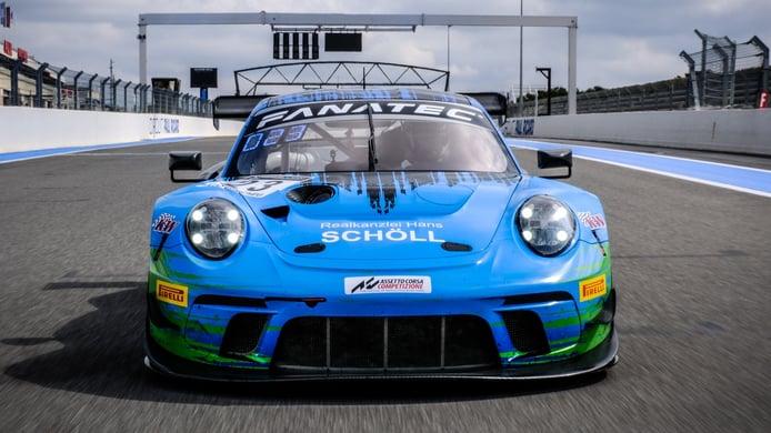 El nuevo Porsche 911 GT3 R está en marcha y debutará en 2023