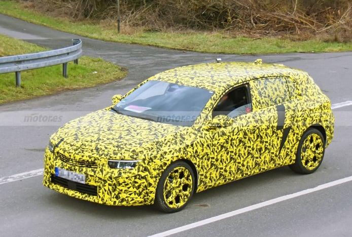 El Opel Astra se deja ver de nuevo durante sus pruebas de desarrollo