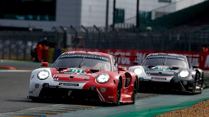 Porsche mantedrá su programa GTE en la temporada 2022 del WEC