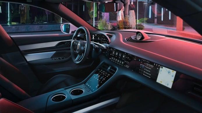Foto Porsche Taycan Cross Turismo - interior