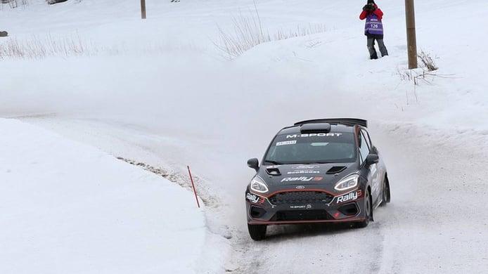 Positivo debut del Ford Fiesta Rally3 con Ken Torn a sus mandos