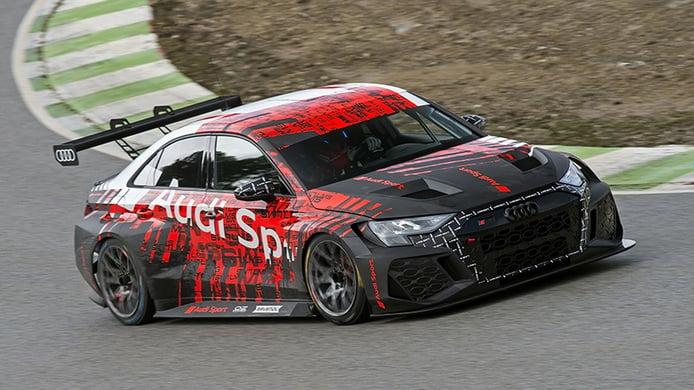 El programa de test del nuevo Audi RS 3 LMS TCR coge velocidad