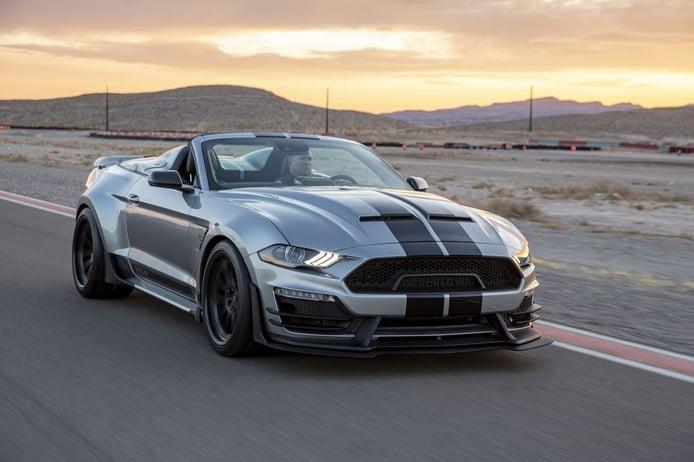 Shelby American presenta un brutal Mustang Super Snake Speedster de 836 CV