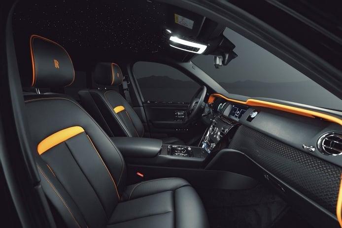 Foto SPOFEC Rolls Royce Cullinan Black Badge - interior