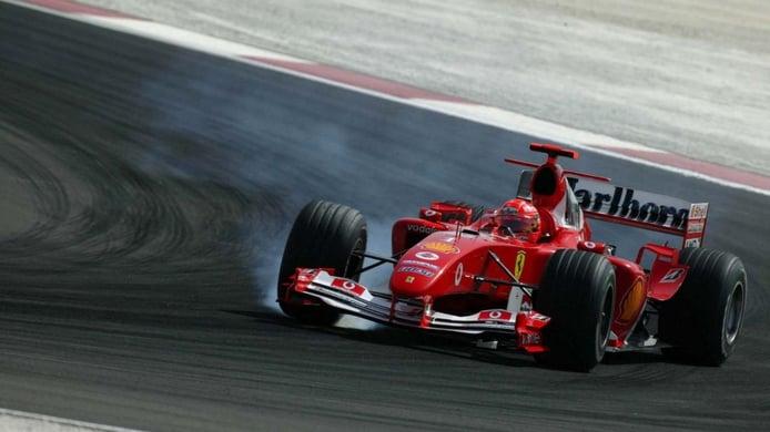 Su primer Gran Premio de Fórmula 1: Bahréin 2004