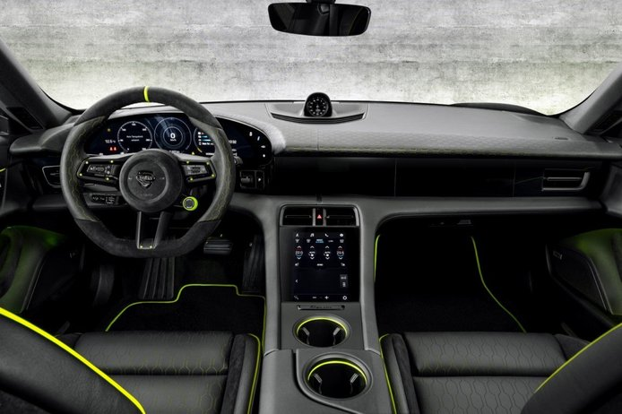 TechArt Porsche Taycan - interior