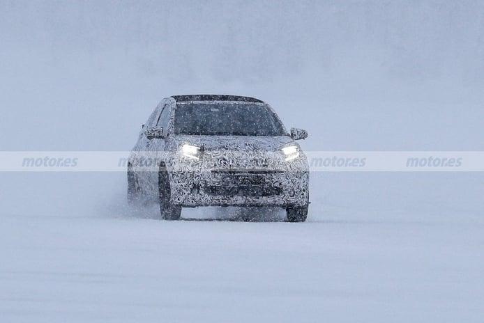 El nuevo Toyota Aygo 2022, cazado en fotos espía bajo una tormenta de nieve