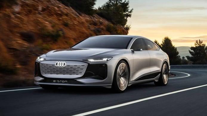 Audi A6 e-tron Concept, ¡filtrada la nueva berlina 100% eléctrica!