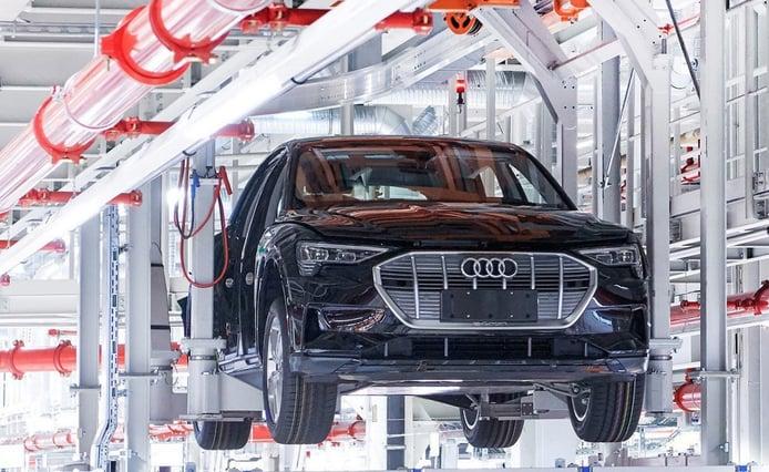 Récord de producción del Audi e-tron quattro: 100.000 unidades fabricadas en Bruselas
