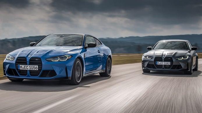 Los nuevos BMW M3 Competition y BMW M4 Competition estrenan la tracción M xDrive