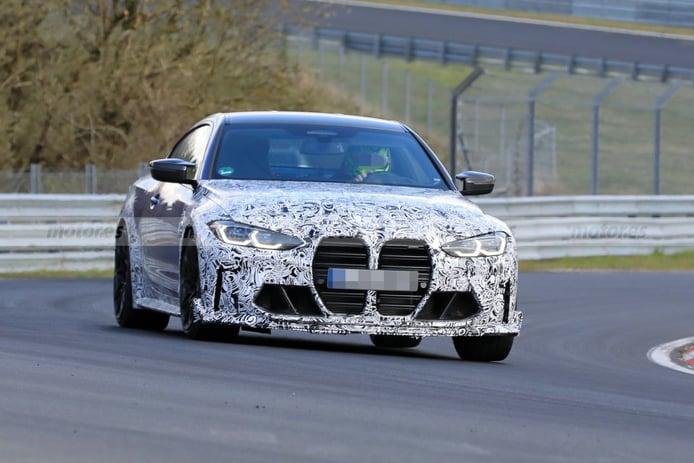 Los prototipos del BMW M4 CSL ya están siendo exprimidos en Nürburgring