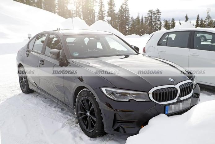 ¡Cazado! Primeras fotos espía del interior del BMW Serie 3 Facelift 2023