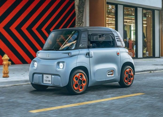 El Citroën AMI logra llegar a Estados Unidos antes que Peugeot