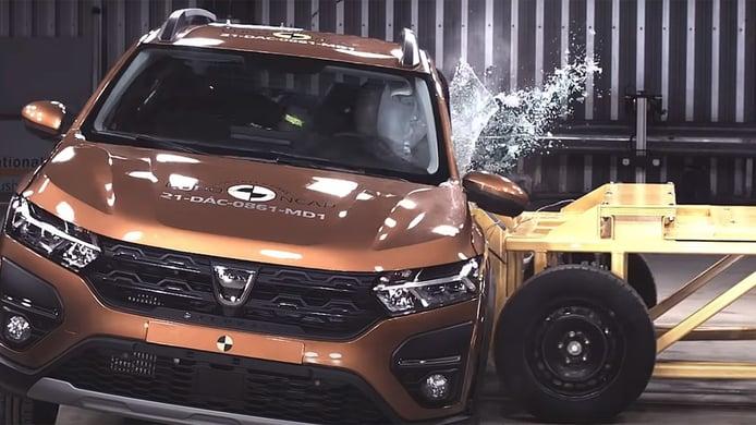 ¿Son seguros? Los nuevos Dacia Sandero y Logan se «estrellan» en las pruebas Euro NCAP