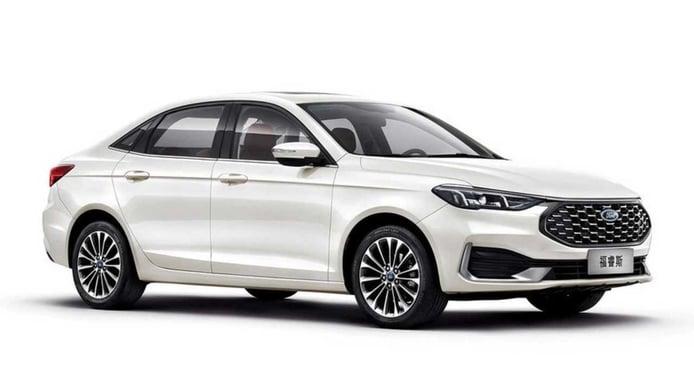 El Ford Escort 2021 estrena nuevo facelift en China