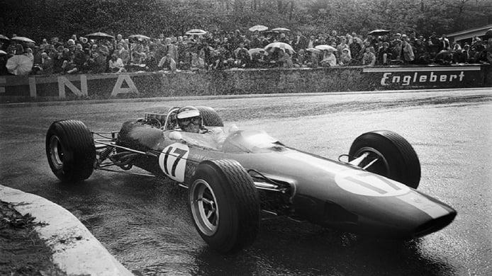 Gran Premio de Bélgica de 1965: Jim Clark separó las aguas