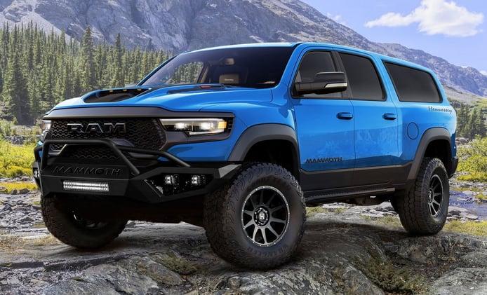 Hennessey convierte el RAM 1500 TRX en el SUV de 7 plazas más potente del mundo