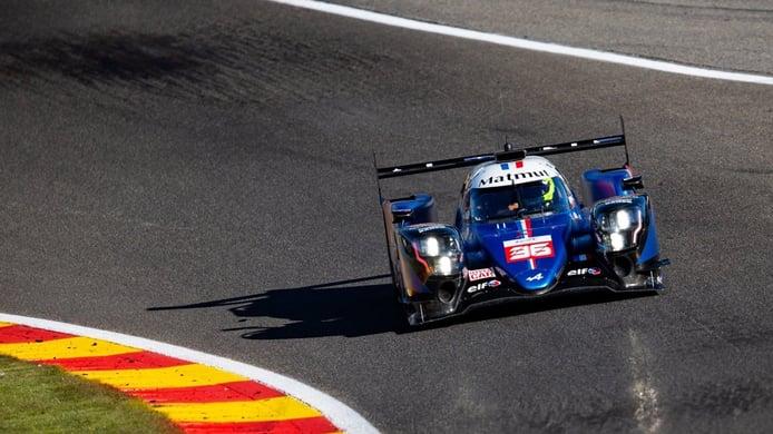 Los hypercar de Alpine y Toyota ya mandan en el FP2 de las 6 Horas de Spa
