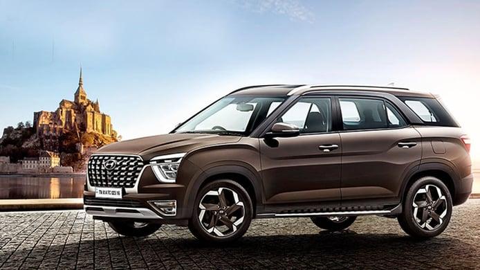 Hyundai Alcazar, debuta en la India un nuevo SUV con nombre de sabor español