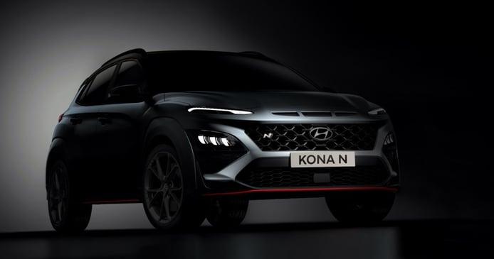 El nuevo Hyundai Kona N contará con 280 CV y cambio automático DCT
