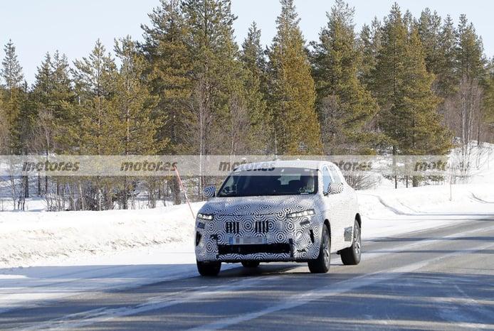 El Renault Kadjar 2022, retratado en nuevas fotos espía en las pruebas de invierno