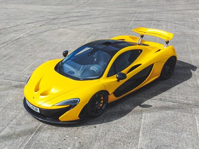 El primer McLaren P1 entregado a un cliente va a ser subastado