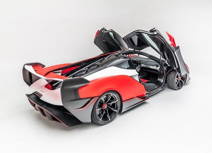 Uno de los exclusivos McLaren Sabre ya está disponible en el mercado de usados