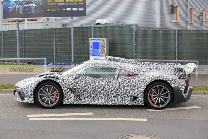 Foto espía Mercedes-AMG ONE 2021 - exterior