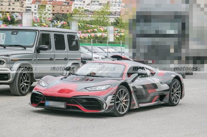 El Mercedes-AMG ONE posa en nuevas fotos espia con especificaciones de producción