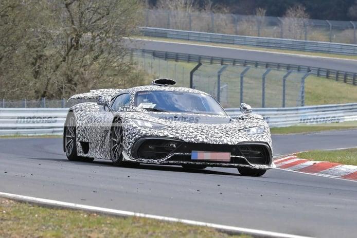 Los prototipos del Mercedes-AMG ONE invaden Nürburgring en un vídeo espía