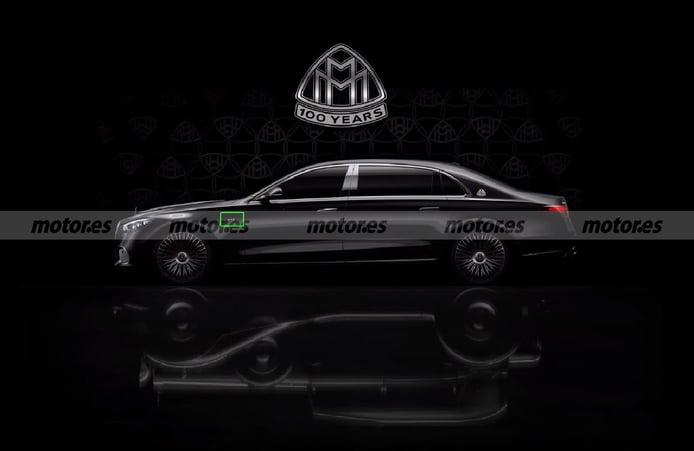 El Mercedes-Maybach Clase S V12, escondido en el teaser del centenario de la marca de lujo