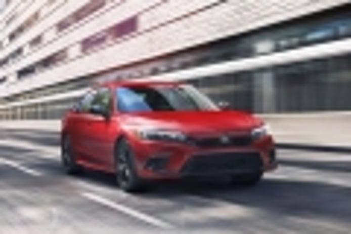 Todas las imágenes y datos del nuevo Honda Civic Sedán 2022