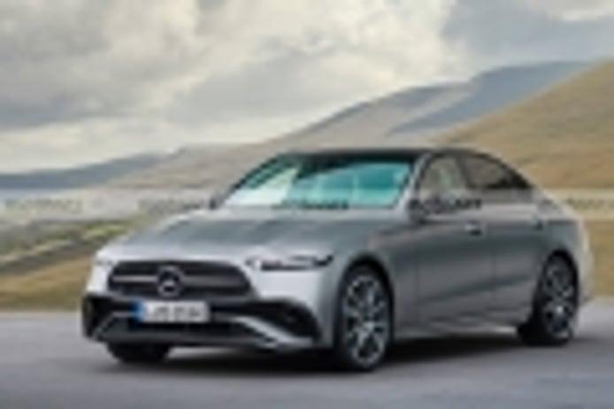 Primera recreación del Mercedes Clase E W214, llega en 2023