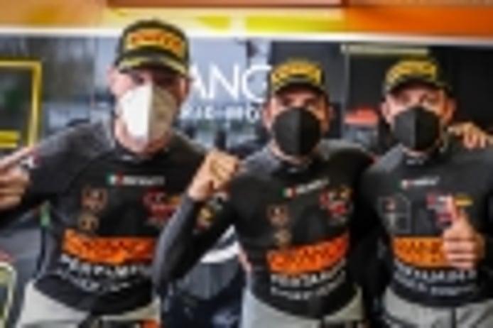 Pole para el Lamborghini #63 en Monza, Dani Juncadella saldrá segundo