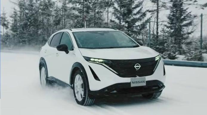 Nissan nos muestra las últimas pruebas del Ariya en su centro secreto de Hokkaido
