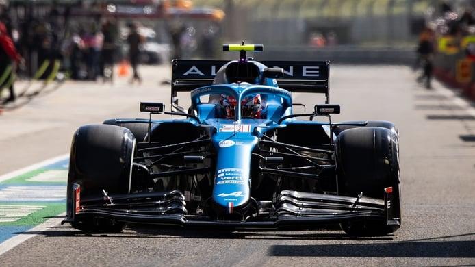 Estas son las novedades aerodinámicas de Alpine en Imola