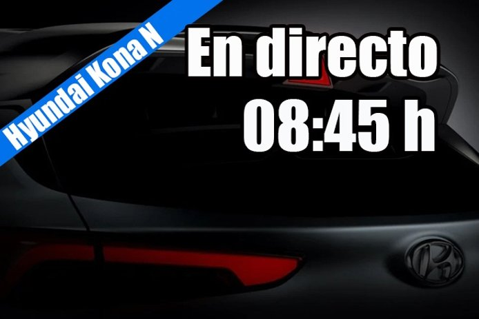 En directo, la presentación mundial del nuevo Hyundai Kona N