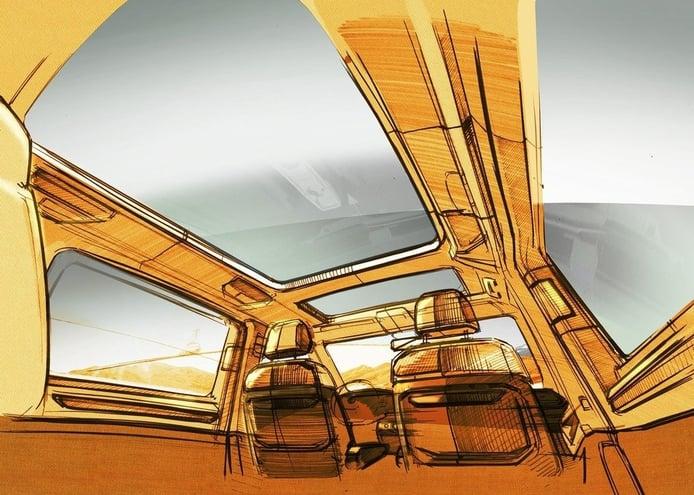 Nuevo teaser del Volkswagen Multivan 2022, esta vez el amplio interior