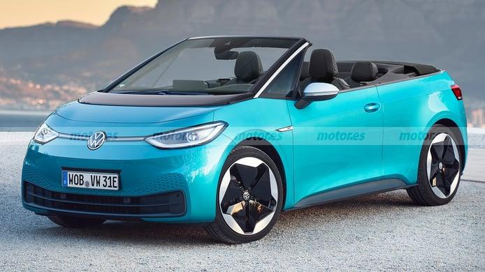 Adelanto del Volkswagen ID.3 Cabrio, ¿será realidad este descapotable eléctrico?