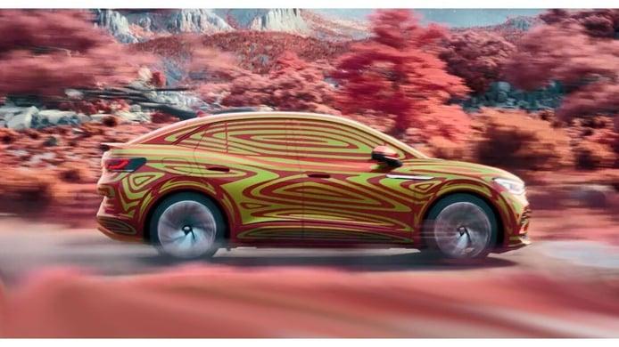 Primer teaser del nuevo Volkswagen ID.5, versión GTX incluida