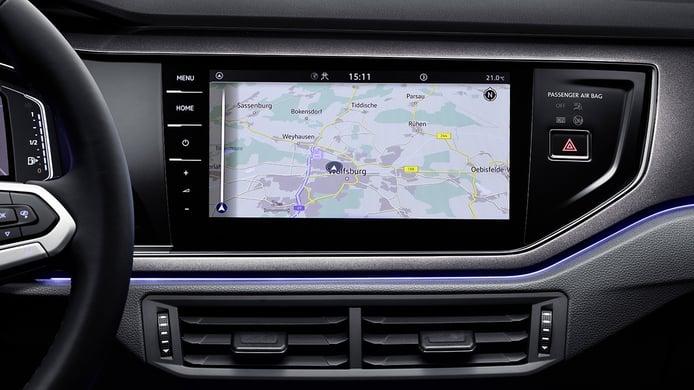 Volkswagen Polo 2021 - pantalla táctil