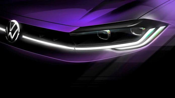 Teaser Volkswagen Polo Facelift 2021