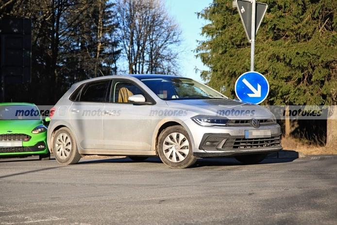 Foto espía Volkswagen Polo facelift 2022 - exterior